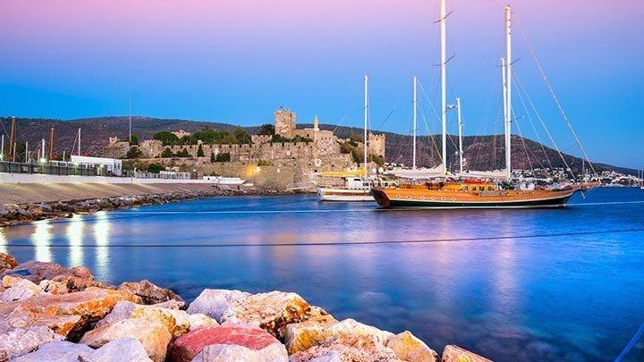 Bodrum Castle Sunset