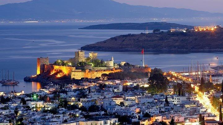 Bodrum Castle Night
