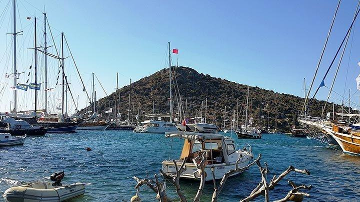 Gumusluk Boats