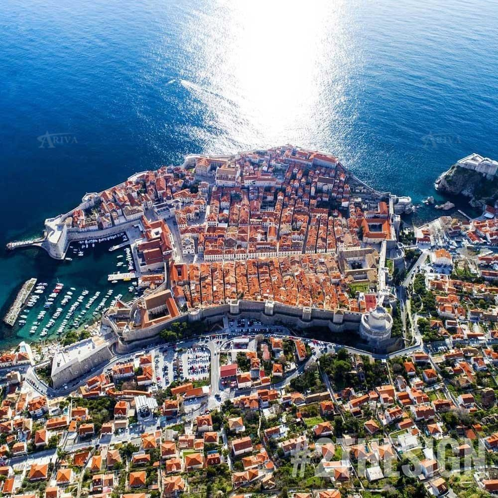 Dubrovnik Bird Eye