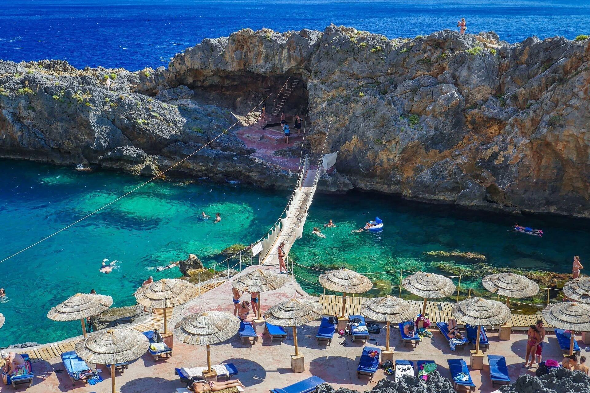 Kalypso Beach Crete Island
