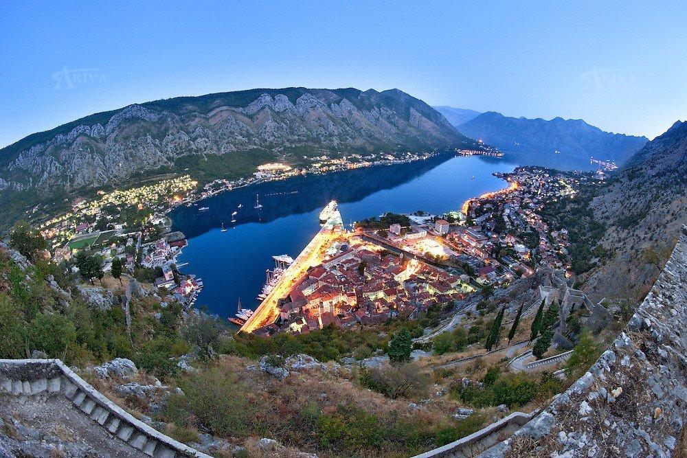 Kotor Bay Evening