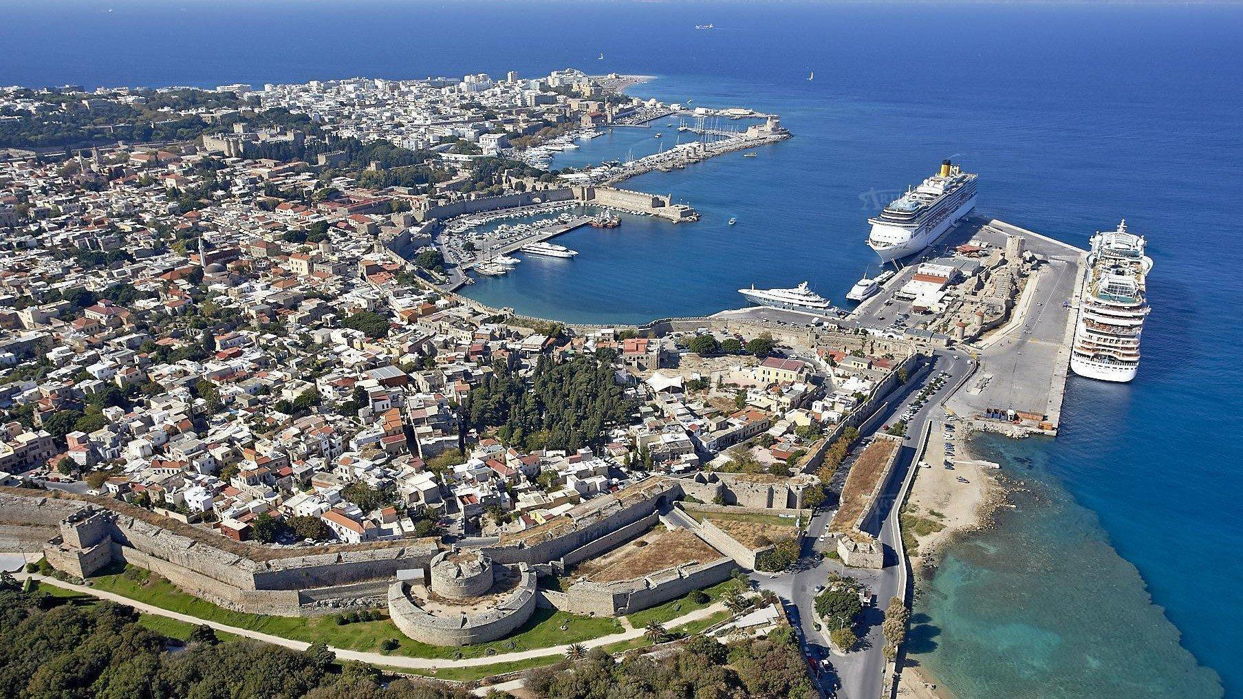 Rhodes From Air