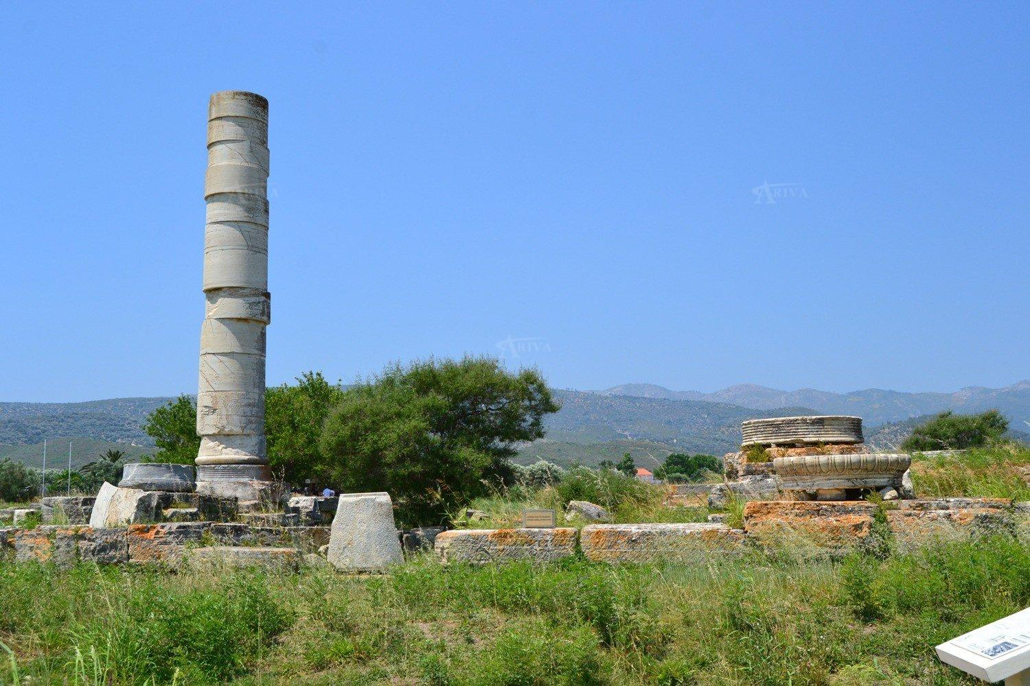 Temple Of Hera Samos