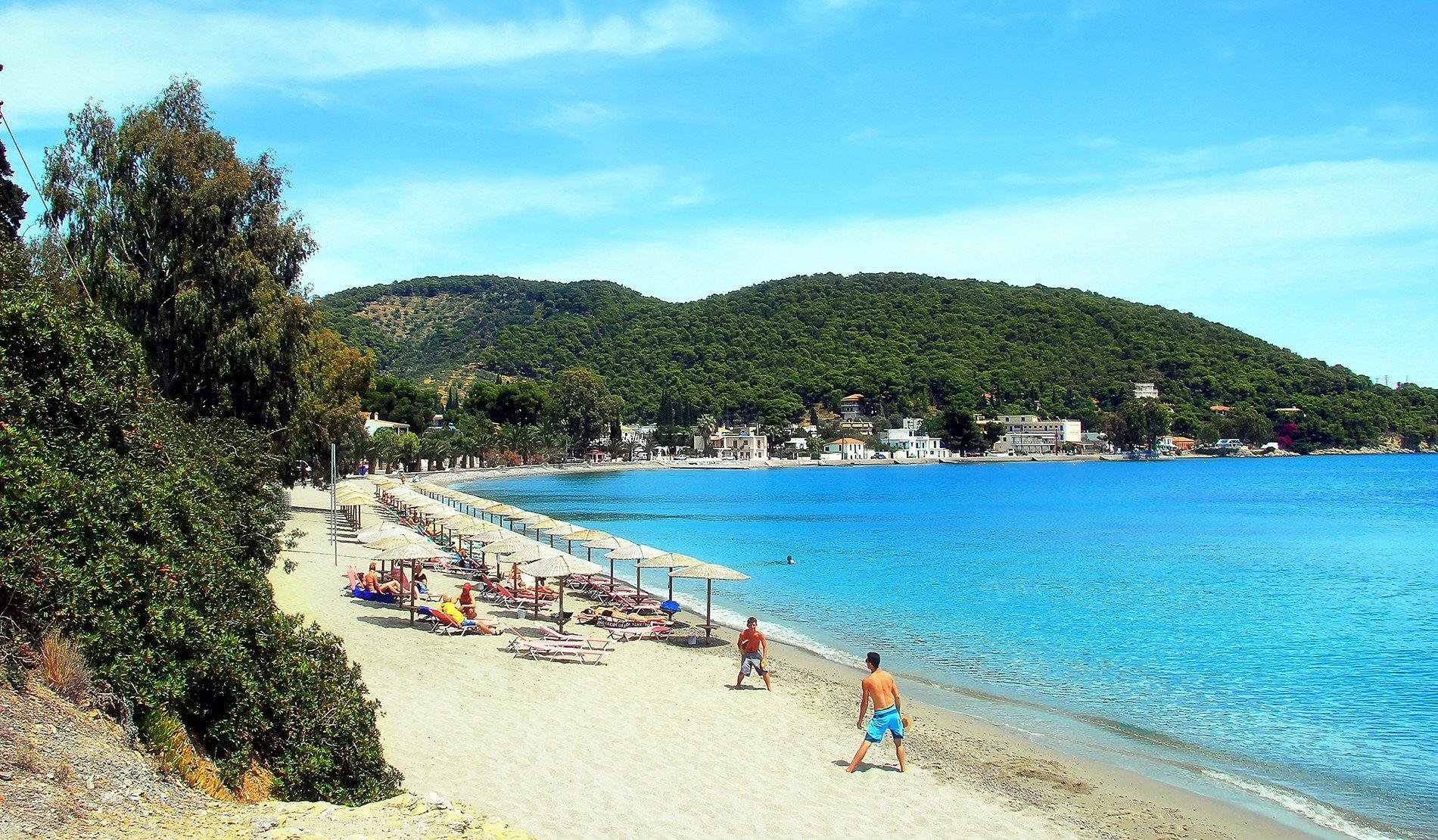 Askeli Beach Poros