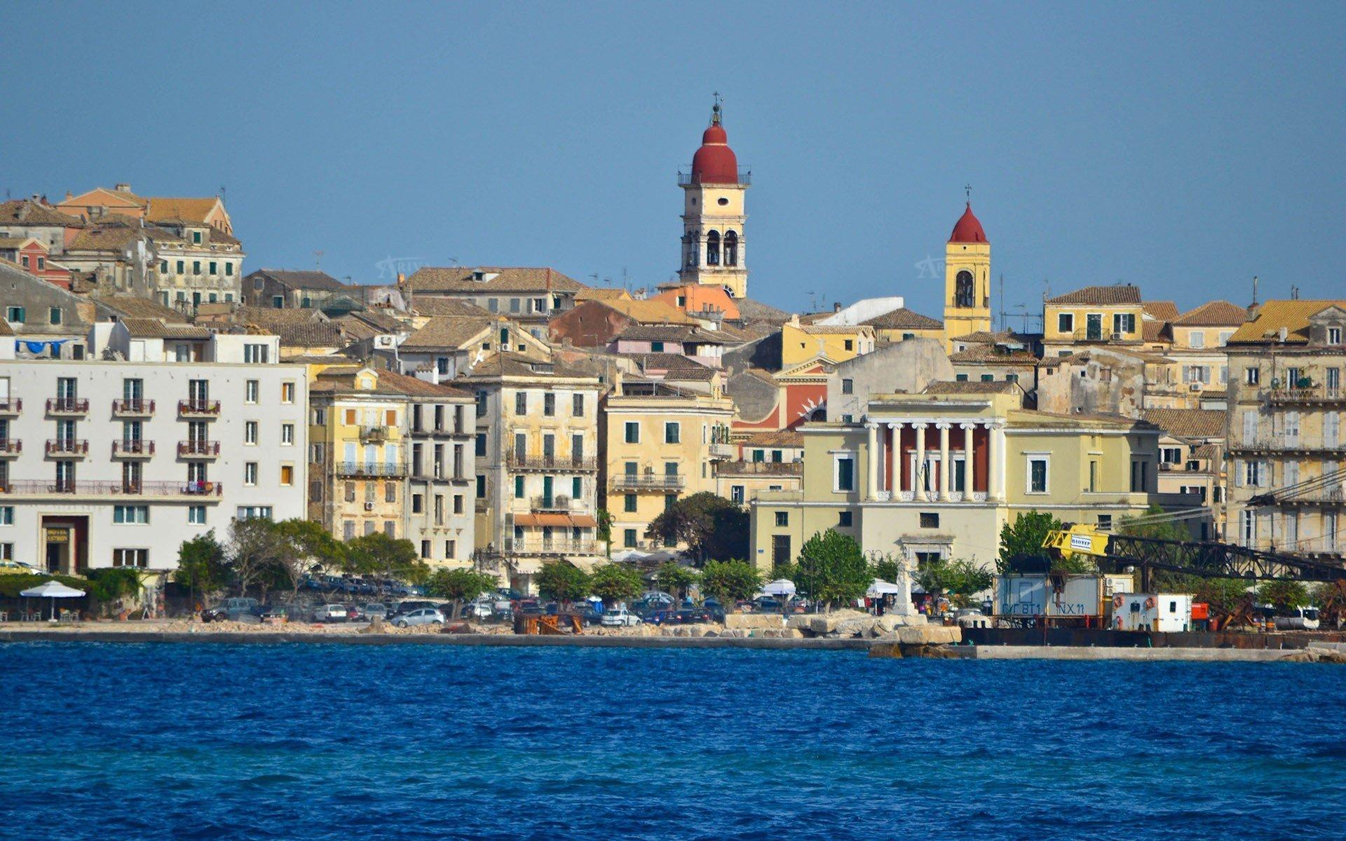 Corfu City View