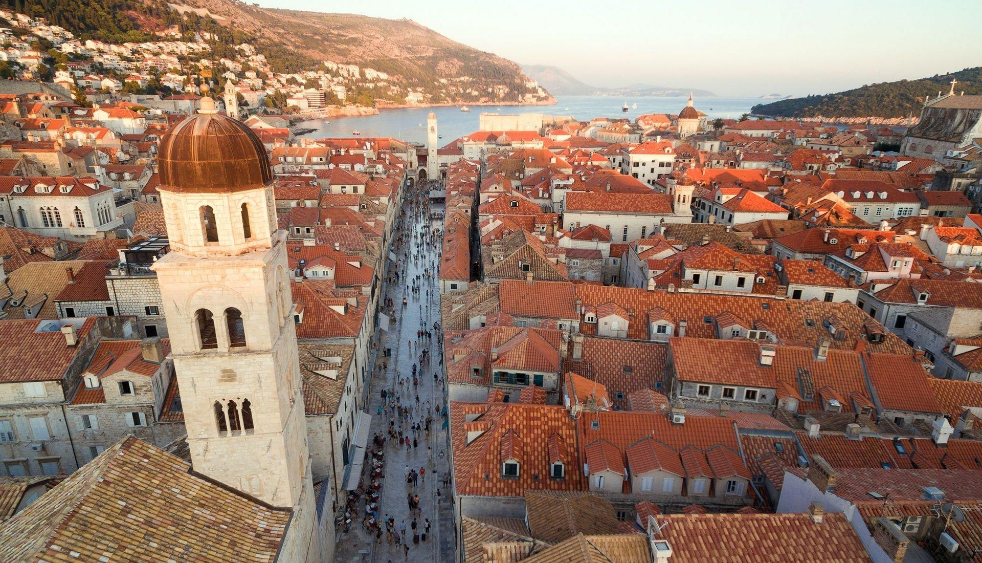Dubrovnik City From Up