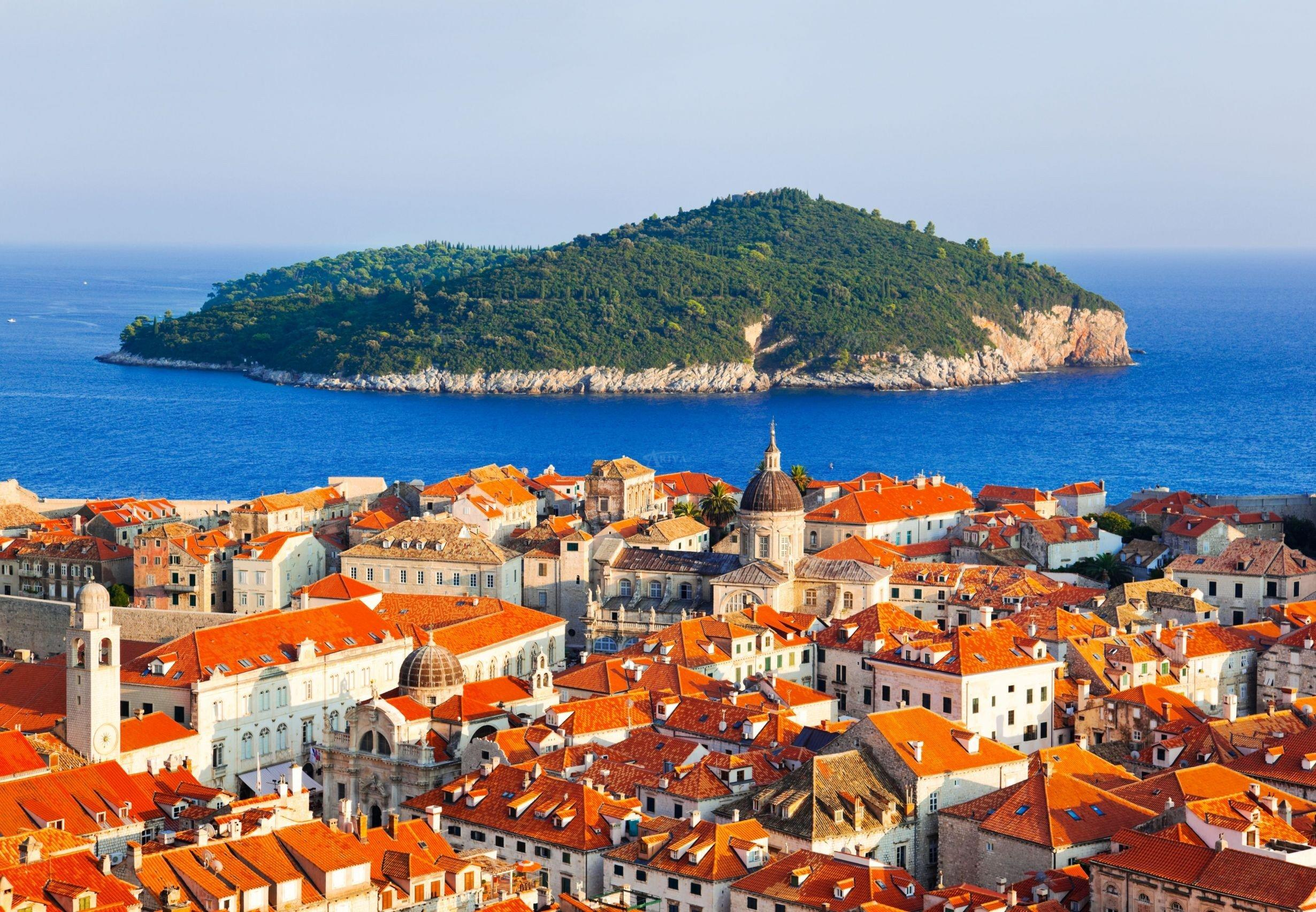 Dubrovnik Lokrum Islet