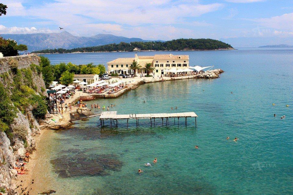 Faliraki Beach Corfu