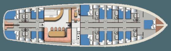 Aegean Clipper plan 1