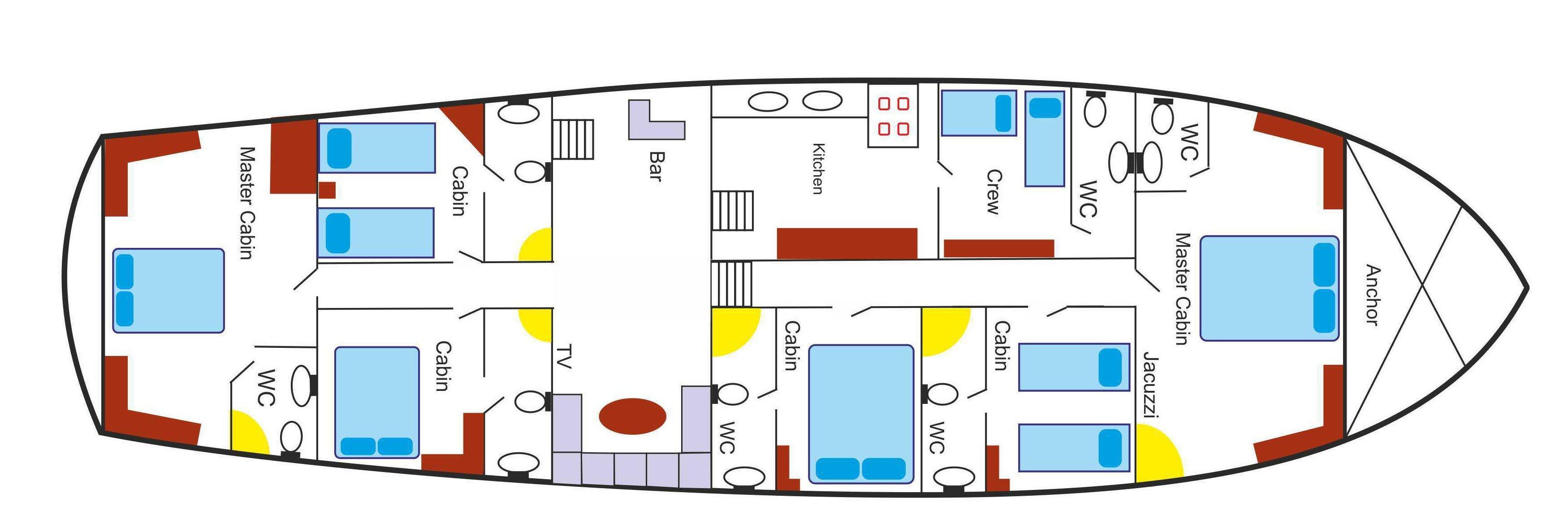 Perla Del Mar 2 plan 1