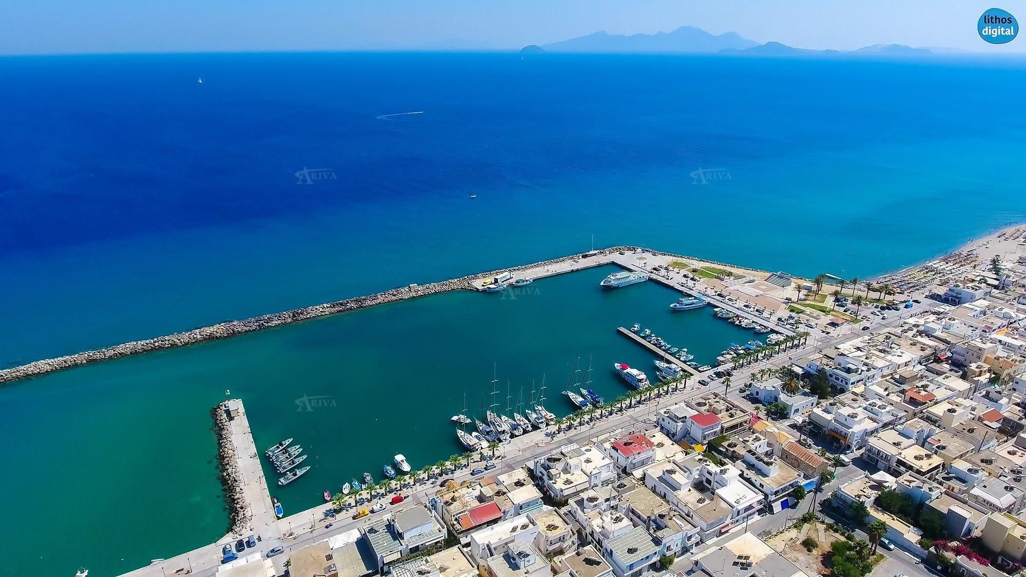 Kos Marina From Air