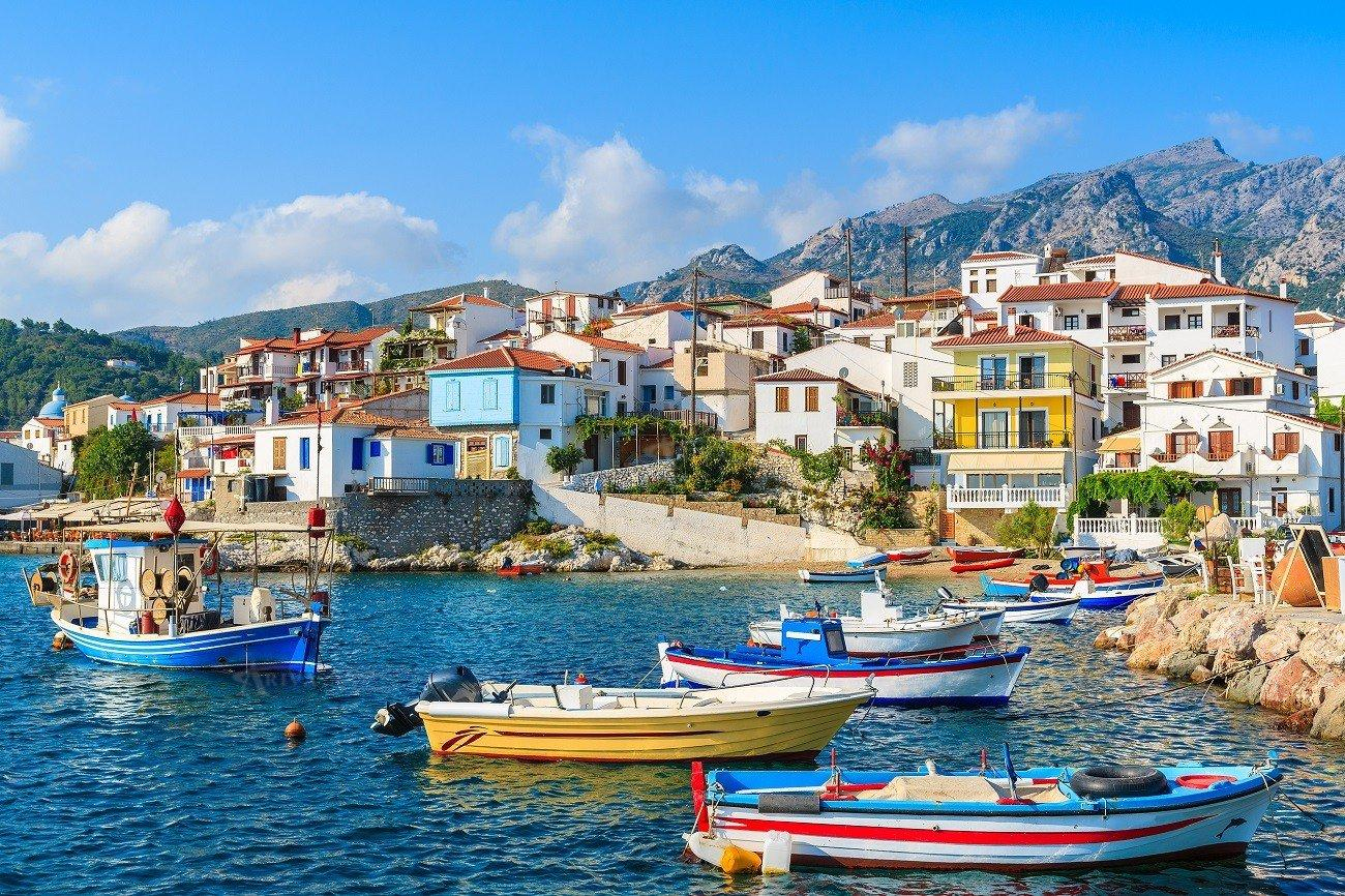 Samos Greek Island
