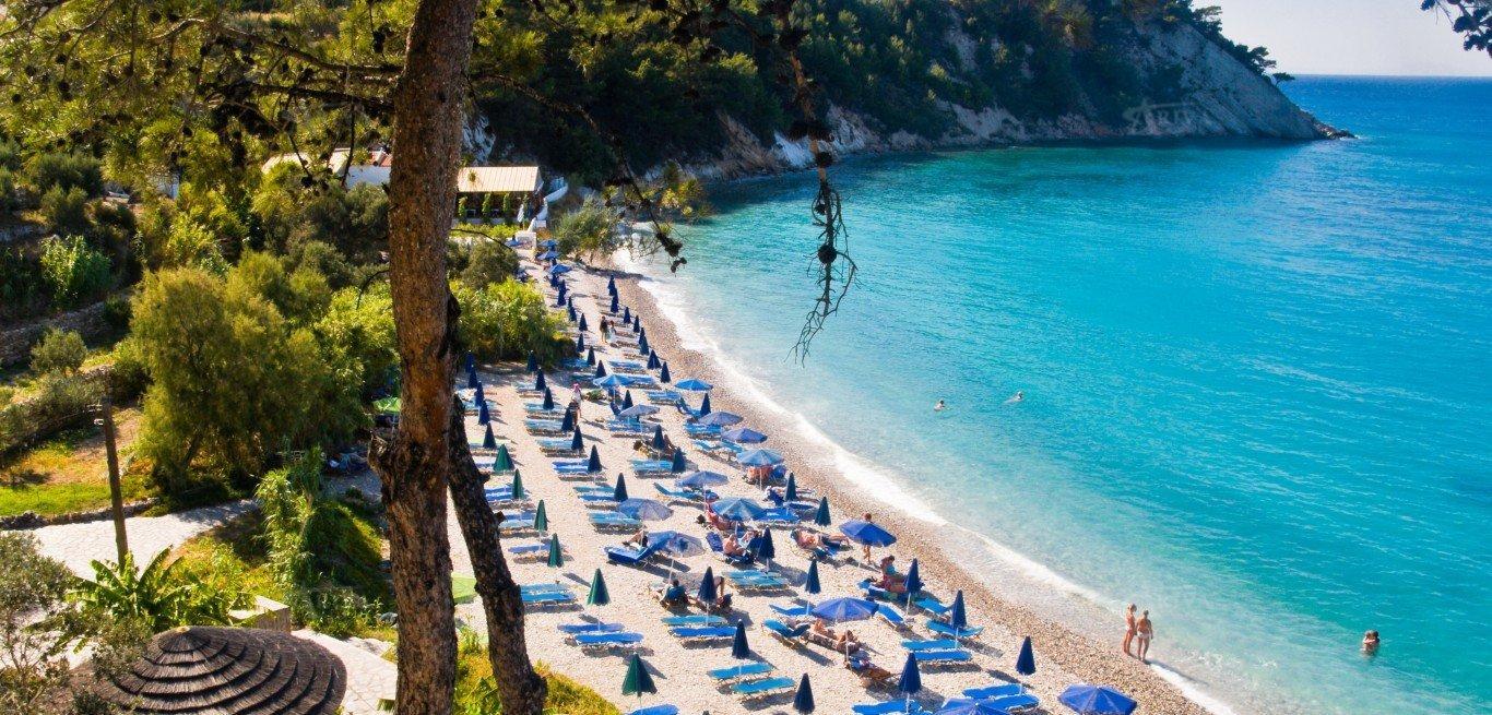 Samos Island Beach