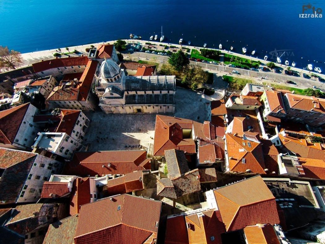 Sibenik From Air