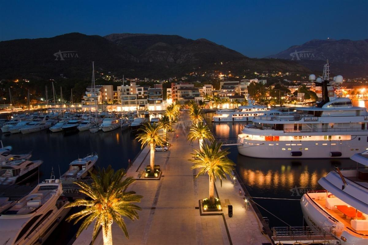 Tivat Marina Night