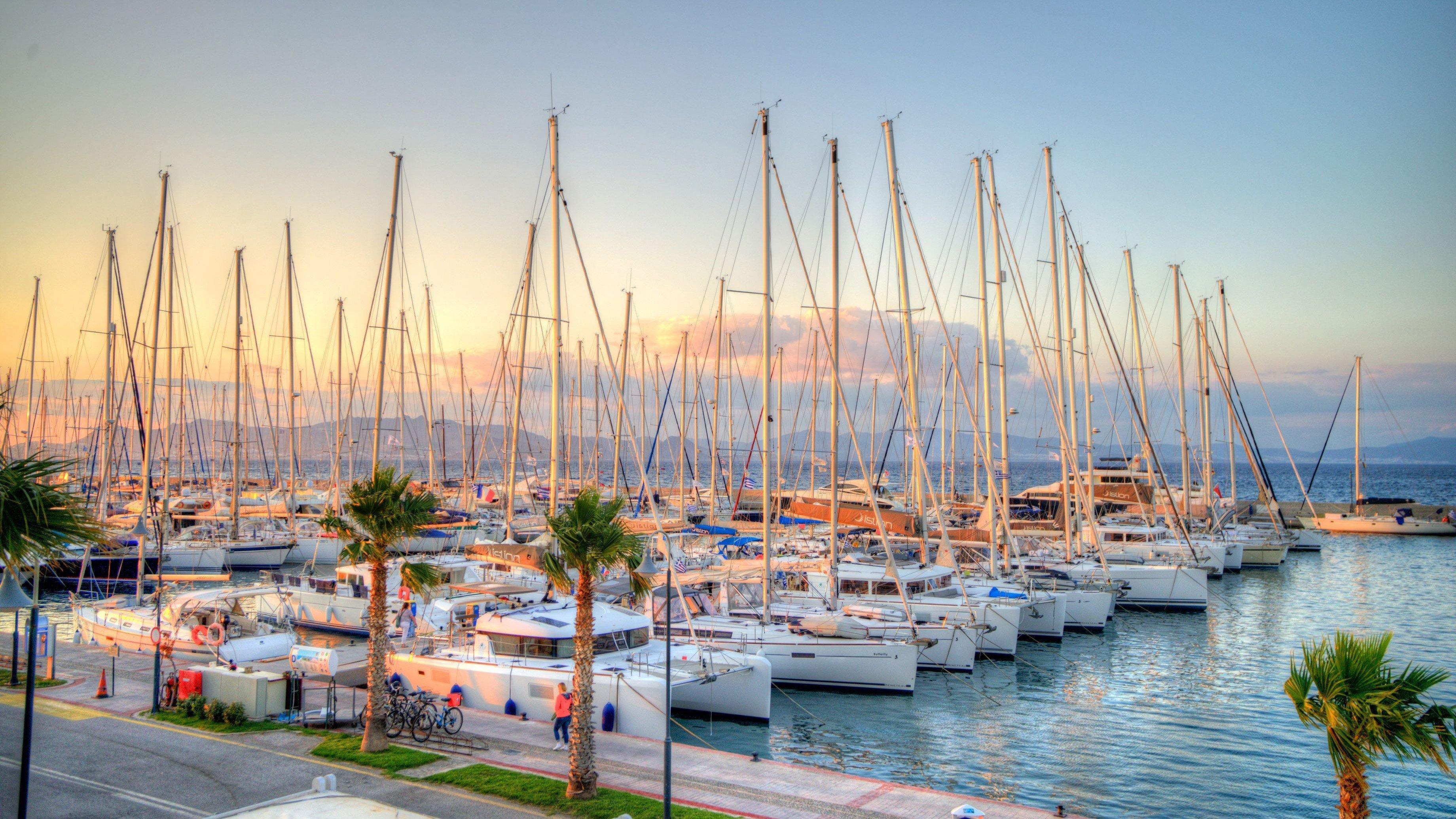 Yachts In Kos
