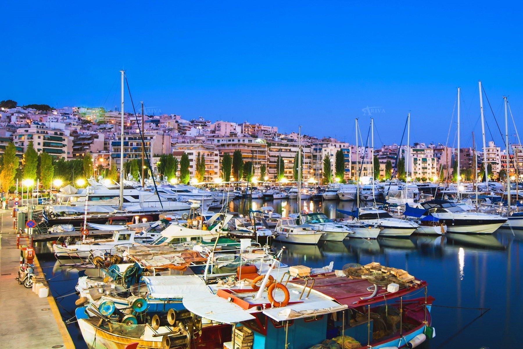Yachts In Piraeus Athens