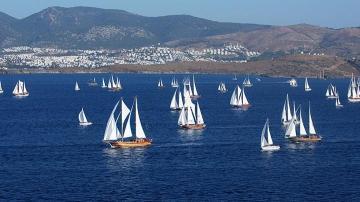 Bodrum Cupp Sailing