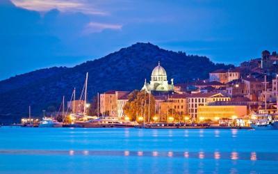 Kroatien Unesco Welterbe Sibenik