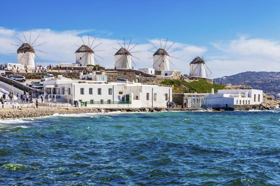 Mykonos Greece Cyclades