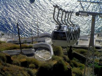 Santorini Cable Car
