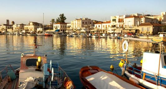 Aegina Island Port