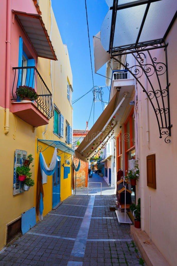 Aegina Island Street