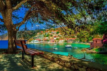 Assos Beach Kefalonia