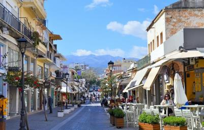Chania Streets Crete