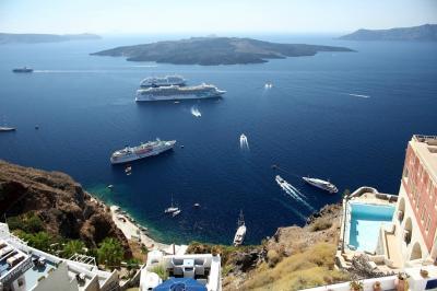 Curise To Santorini