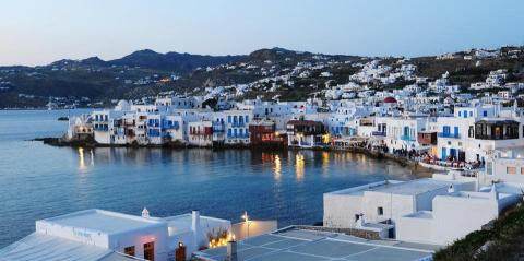Greek Islands Mykonos