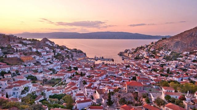 Hydra Island Sunset