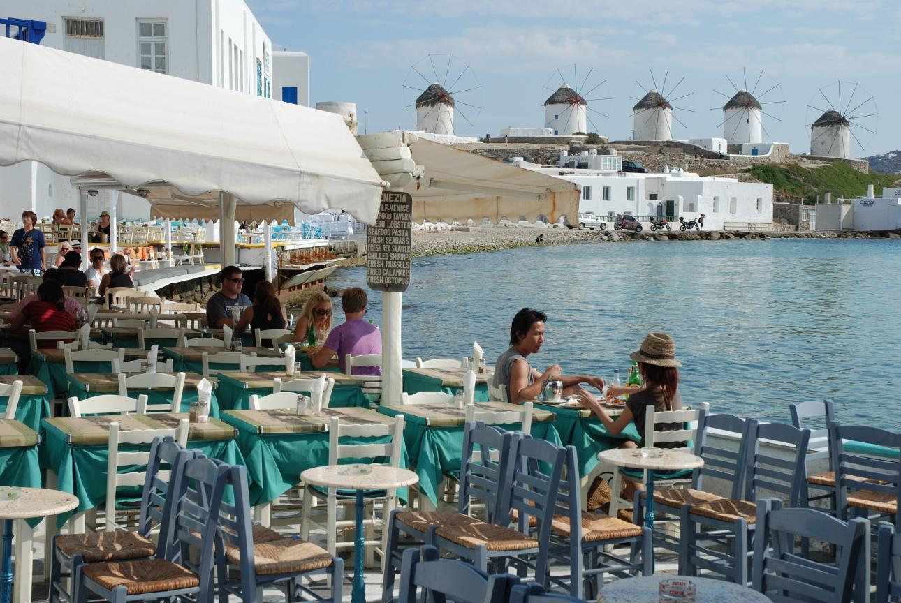 Mykonos Reastaurants