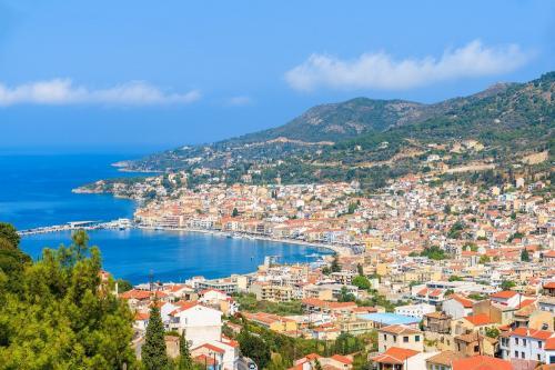 Samos Island City View