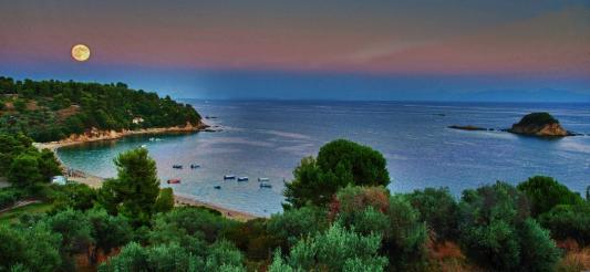 Sunset In Samos